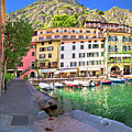 Limone Sul Garda Turquoise Harbor Panoramic View by Brch Photography