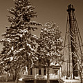 Liston Rear Range Lighthouse De by Skip Willits