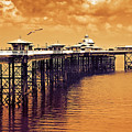 Llandudno Pier North Wales Uk by Mal Bray