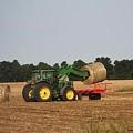 Loading Hay by J McCombie