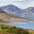 Loch Arklet And The Arrochar Alps by Gary Eason