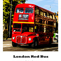 London Red Bus. by Nigel Dudson