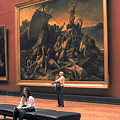 Louvre Museum In Paris by Carl Purcell
