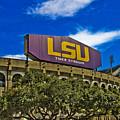 Lsu Tiger Stadium by Scott Pellegrin