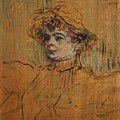 Mademoiselle Nys by Henri De Toulouse-Lautrec