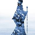 Maleficent-blue by Erzebet S