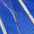 Margaret Hunt Hill Bridge In Dallas - Texas by Anthony Totah