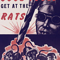 Marine Corps Recruiting Poster From World War by MotionAge Designs
