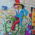 Marseille Street Art, Le Panier And Le Cours Julien by Curt Rush