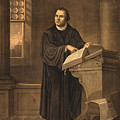 Martin Luther, German Theologian by Photo Researchers
