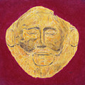 Mask Of Agamemnon by Dennis Larson