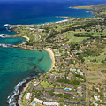 Maui Aerial Of Kapalua by Ron Dahlquist - Printscapes