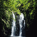 Maui Waterfall by Dave Fleetham - Printscapes