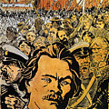Maxim Gorki (1868-1936) by Granger