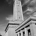Memorial Tower - Lsu Bw by Scott Pellegrin
