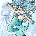 Mermaid Belly Dancer by Lacy  Chenault