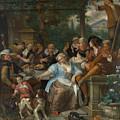 Merry Company On A Terrace by Jan Steen