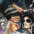 Micheal Jackson by Boris Satterwhite