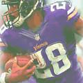 Minnesota Vikings Adrian Peterson by Joe Hamilton