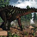 Miragaia Dinosaur - 3d Render by Elenarts - Elena Duvernay Digital Art