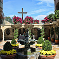 Mission Inn Chapel Courtyard by Tommy Anderson