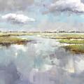 Misty Landscape by Lucio Campana