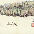 Mountain Landscape by Zhang Daqian