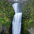 Multnomah Falls Waterfall Oregon Columbia River Gorge by Dustin K Ryan