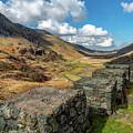 Nant Ffrancon Pass Snowdonia by Adrian Evans