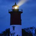 Nauset Lighthouse Night by John Greim