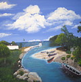 Negril Jamaica by Debbie Levene