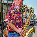 New Orleans Jazz Sax  by Steve Harrington