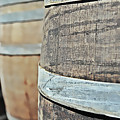 Oak Wine Barrel by Brandon Bourdages