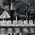 Ocean Palms  by Vickie Brooks