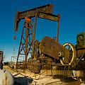 Oil Rig  by Anthony Totah