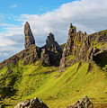 Old Man Of Storr, Isle Of Skye, Scotland by Karol Kozlowski