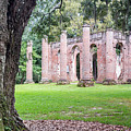 Old Sheldon Church Ruins by Dawna Moore Photography