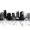 Orlando Florida Skyline by Marlene Watson