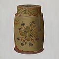 Pa. German Jar by Eugene Shellady