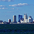 Panoramic View Of Atlantic City, New Jersey by Anthony Totah