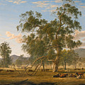 Patterdale Landscape With Cattle by John Glover