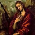 Penitent Magdalene by El Greco