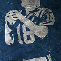 Peyton Manning Colts by Joe Hamilton
