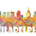 Philadelphia Pennsylvania Skyline by Marlene Watson