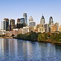 Philadelphia Skyline by John Greim