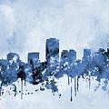 Phoenix Skyline-blue by Erzebet S