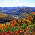 Point Mountain Overlook by Thomas R Fletcher