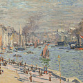 Port Of Le Havre by Claude Monet