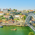 Porto Ribeira Skyline by Benny Marty