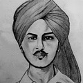 Portrait Art by Kirandeep Kaur